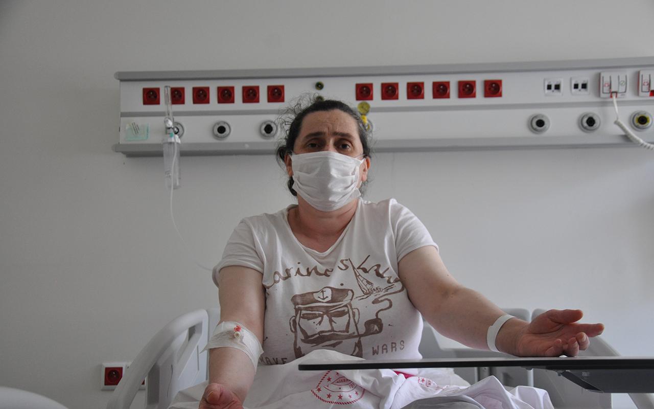 Aşı olmayı erteleyen Covid-19 hastası: