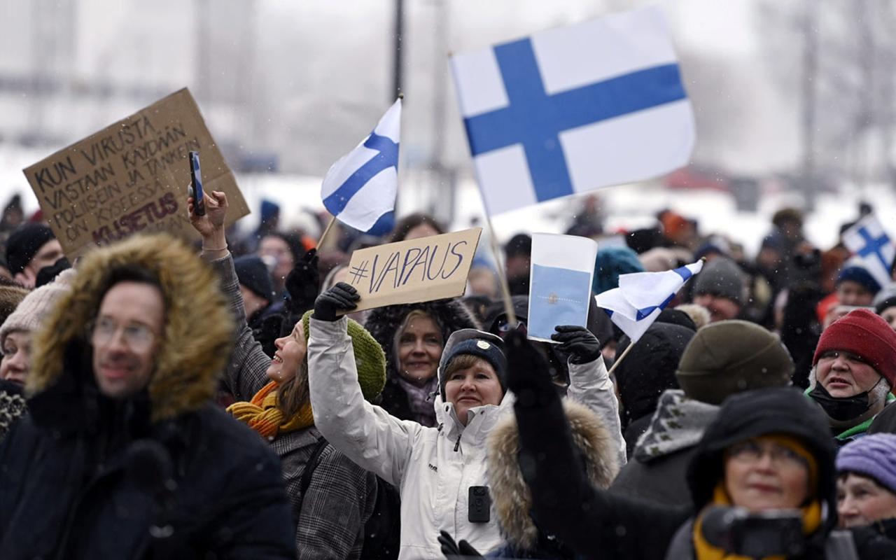 Finlandiya'da korona virüs vaka sayısında yeni rekor