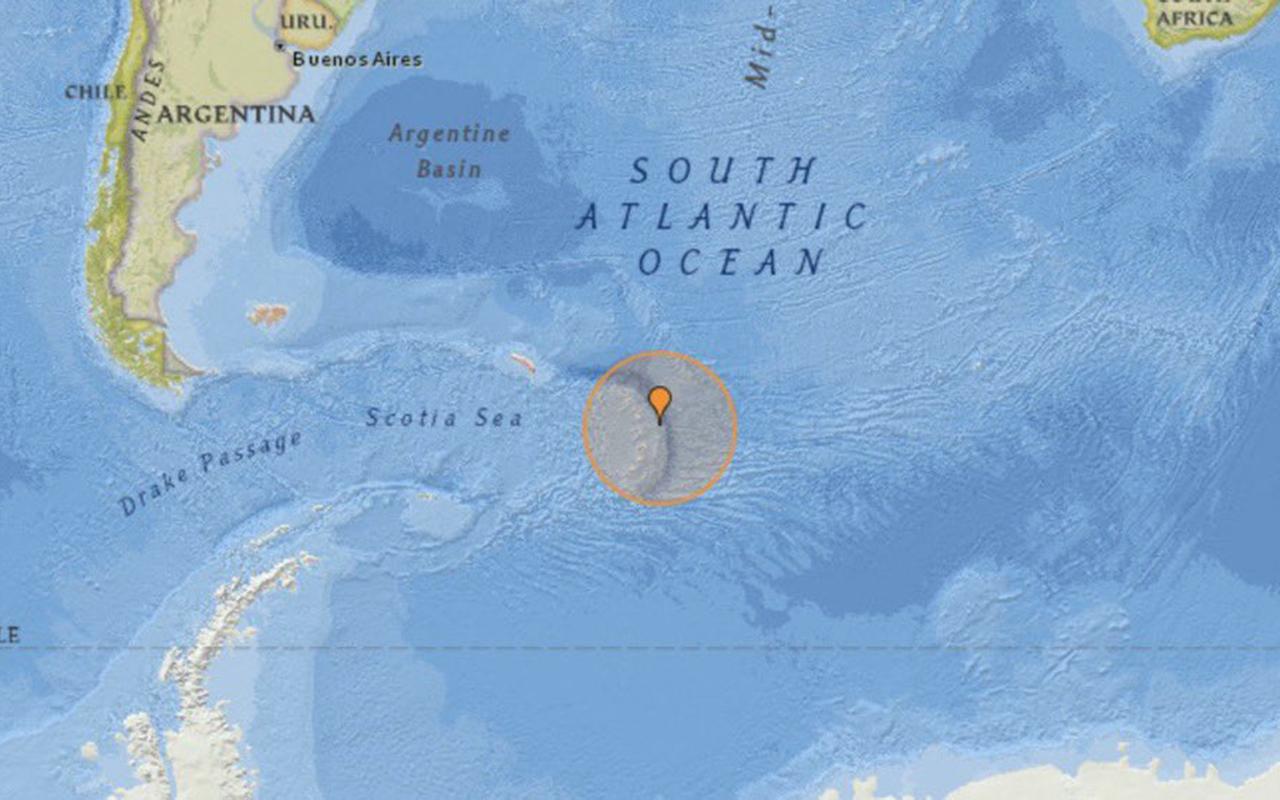 Güney Atlantik'te 7.5 büyüklüğünde deprem