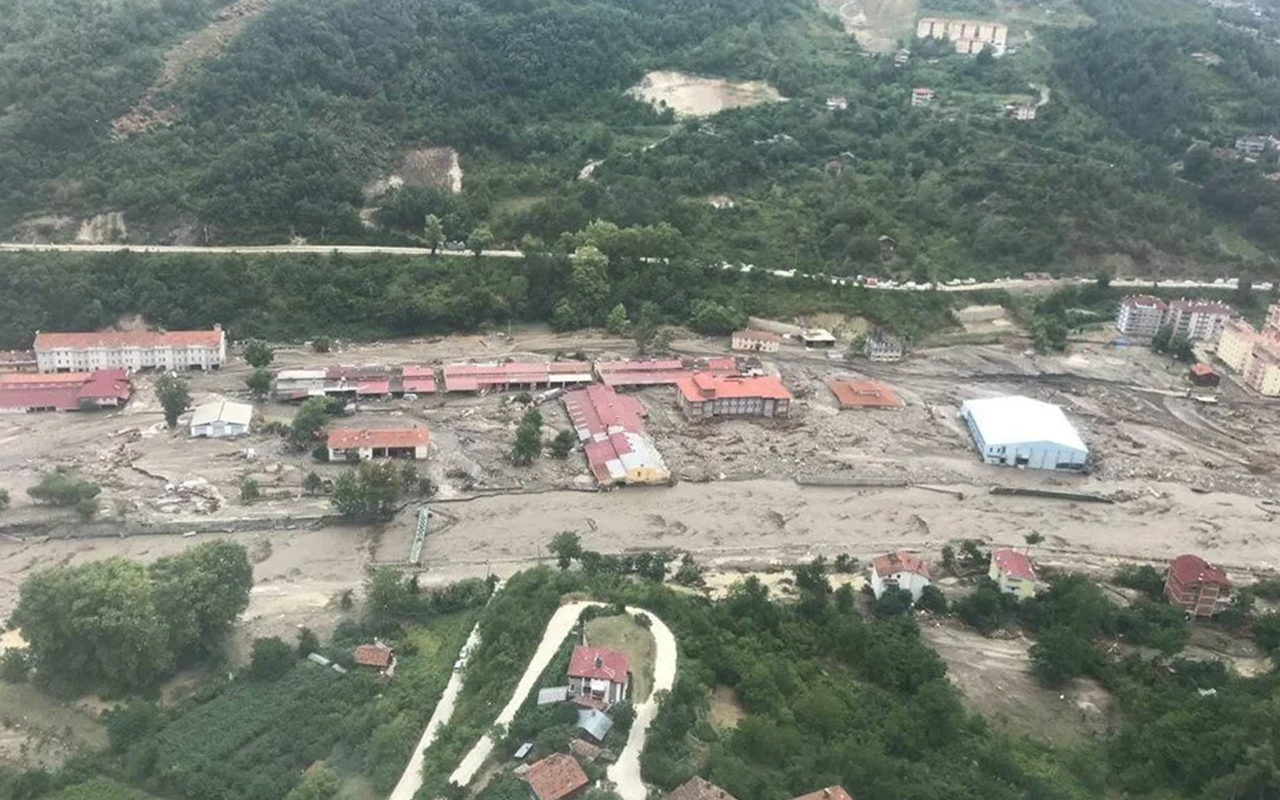 Karadeniz'de sel felaketi: Can kaybı 40'a yükseldi