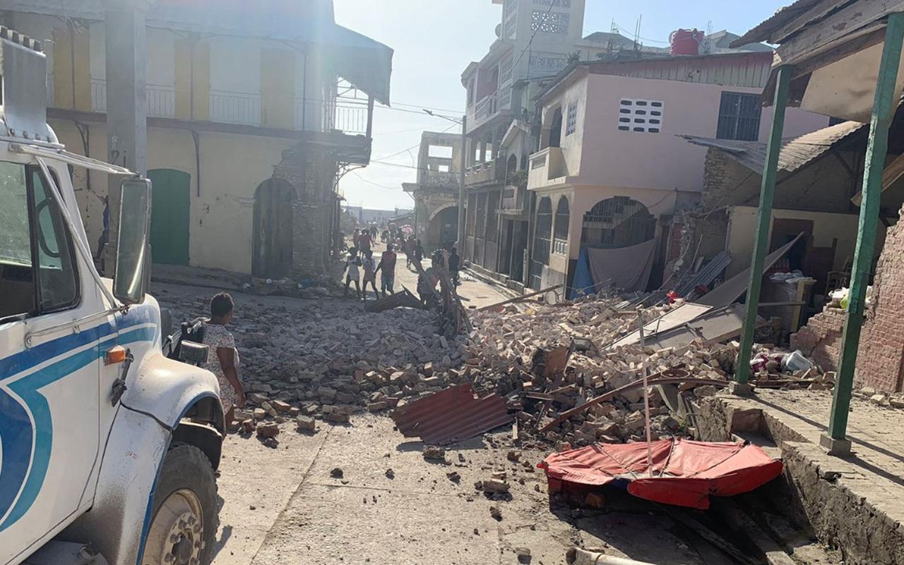 Haiti'deki depremde can kaybı 304'e yükseldi