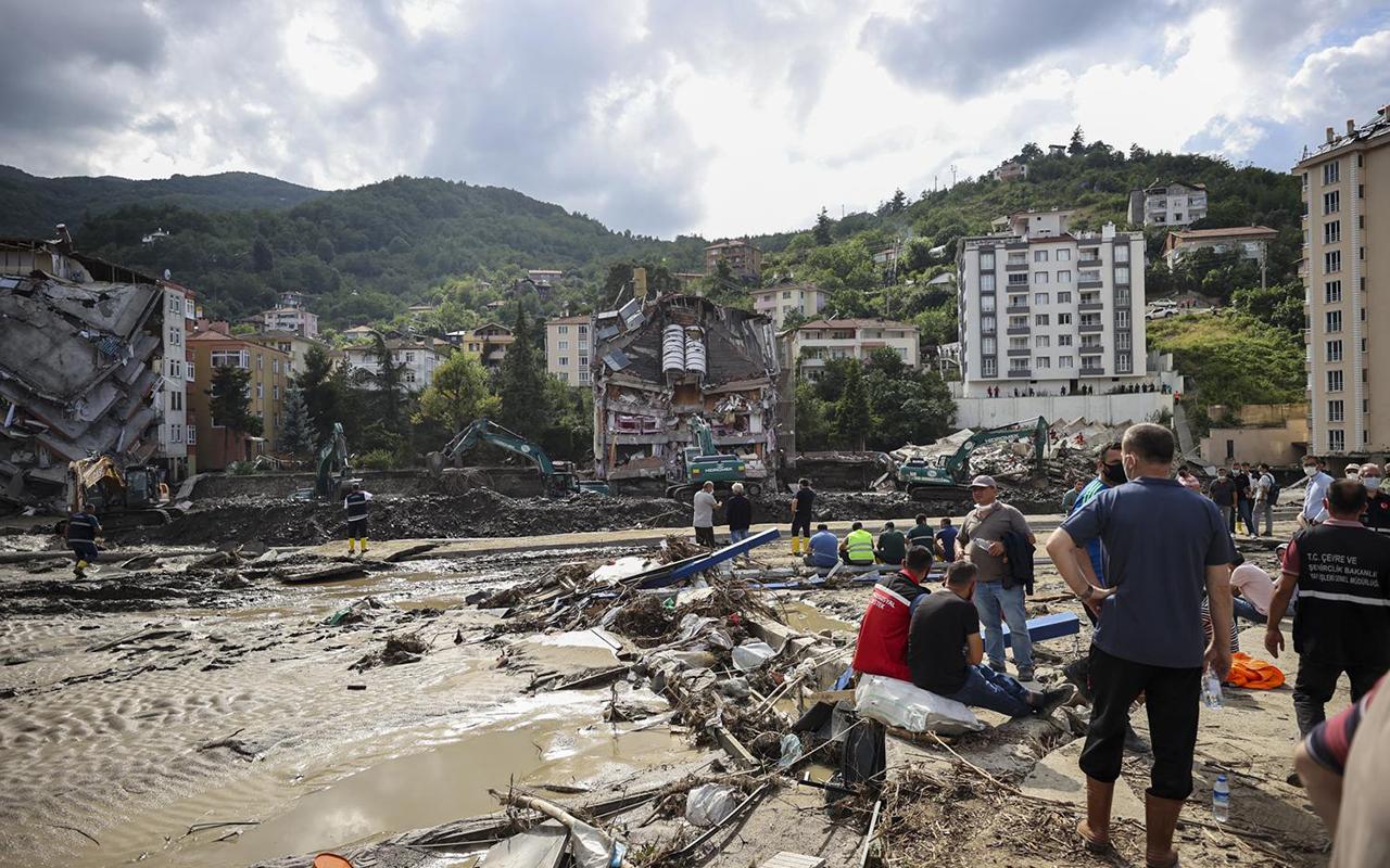 AFAD: Sel felaketinde can kaybı 72'ye yükseldi