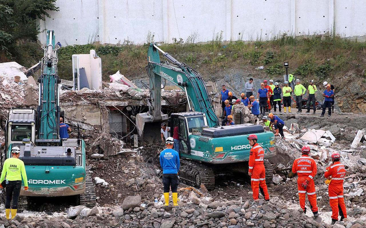 AFAD: Sel felaketinde can kaybı 78'e yükseldi