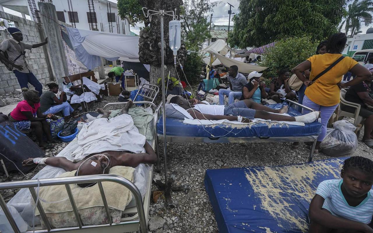 Haiti'deki depremde can kaybı 2 bin 189'a yükseldi