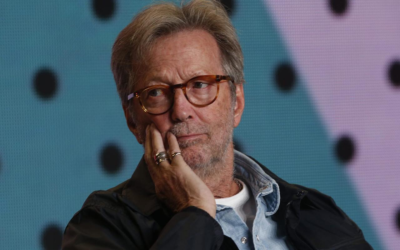 Ünlü müzisyen Eric Clapton'dan Covid-19 kısıtlamalarını eleştiren yeni şarkı