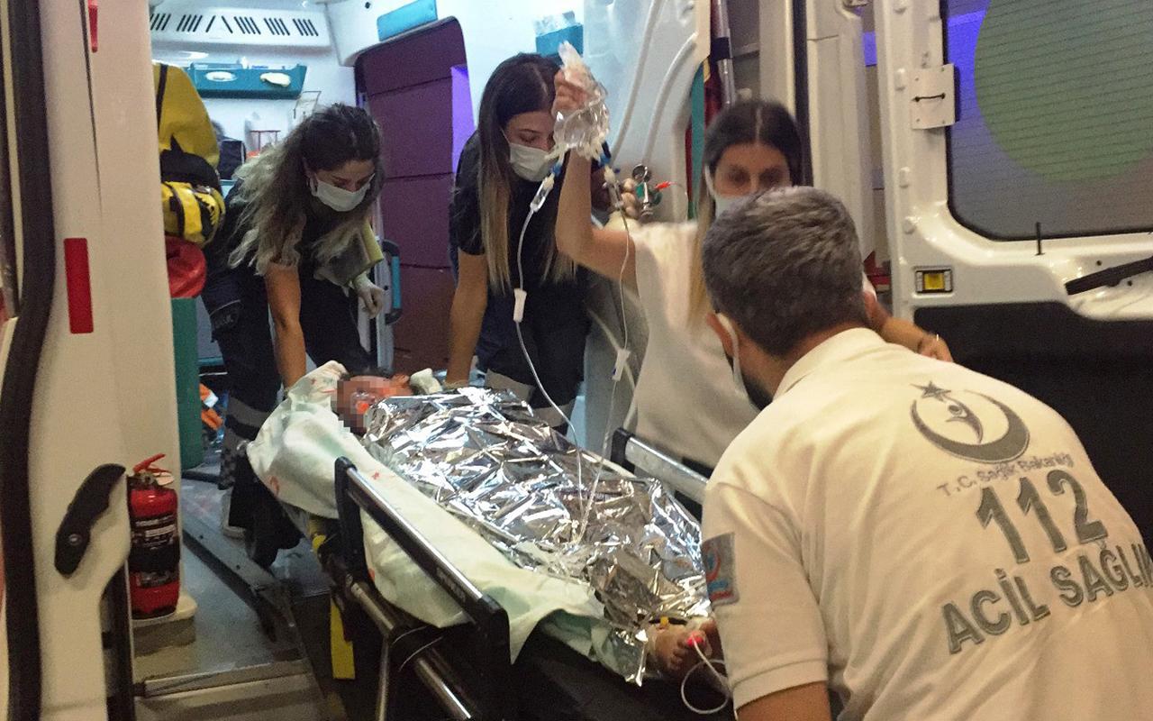 Pekmez kazanına düşen çocuk ağır yaralandı