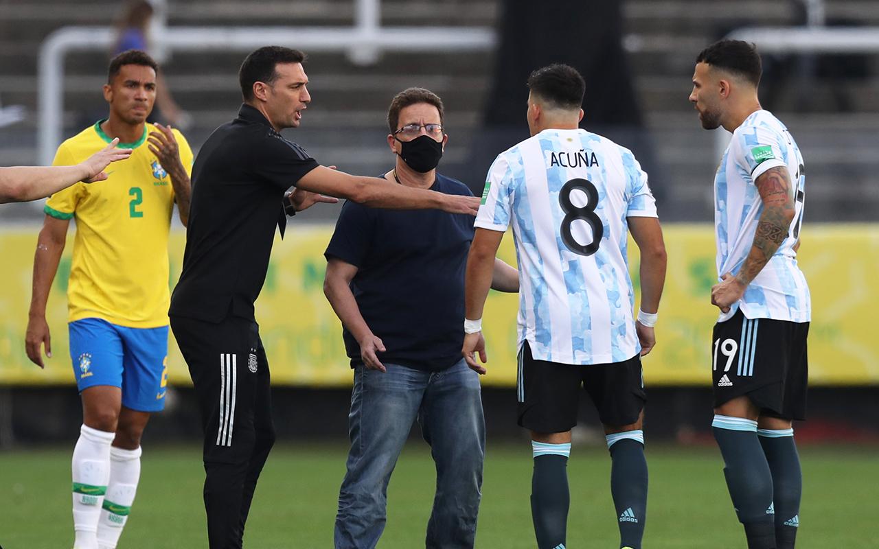 Brezilya - Arjantin maçında koronavirüs krizi