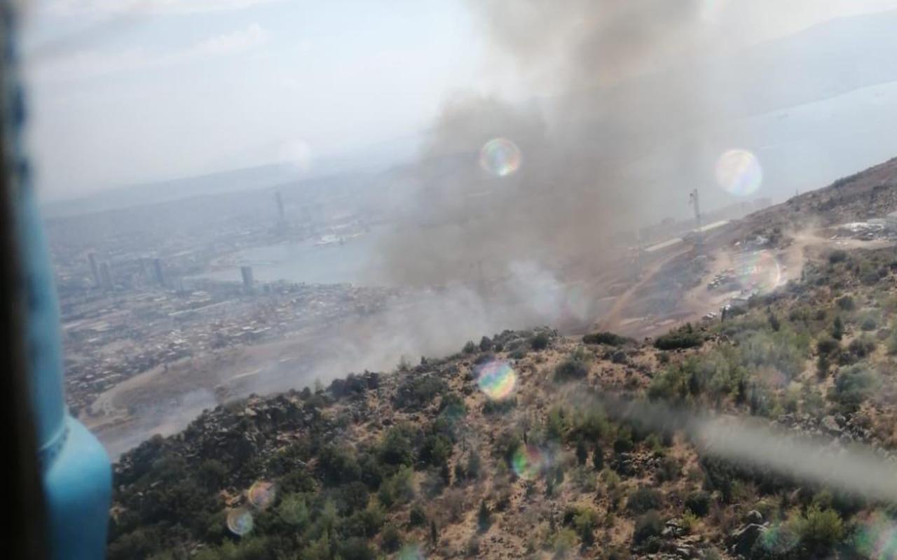 İzmir'de çıkan yangınlar kontrol altında