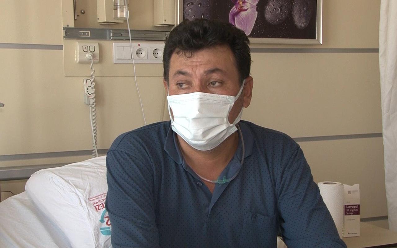 Virüsü önemsemeyen Covid-19 hastası: