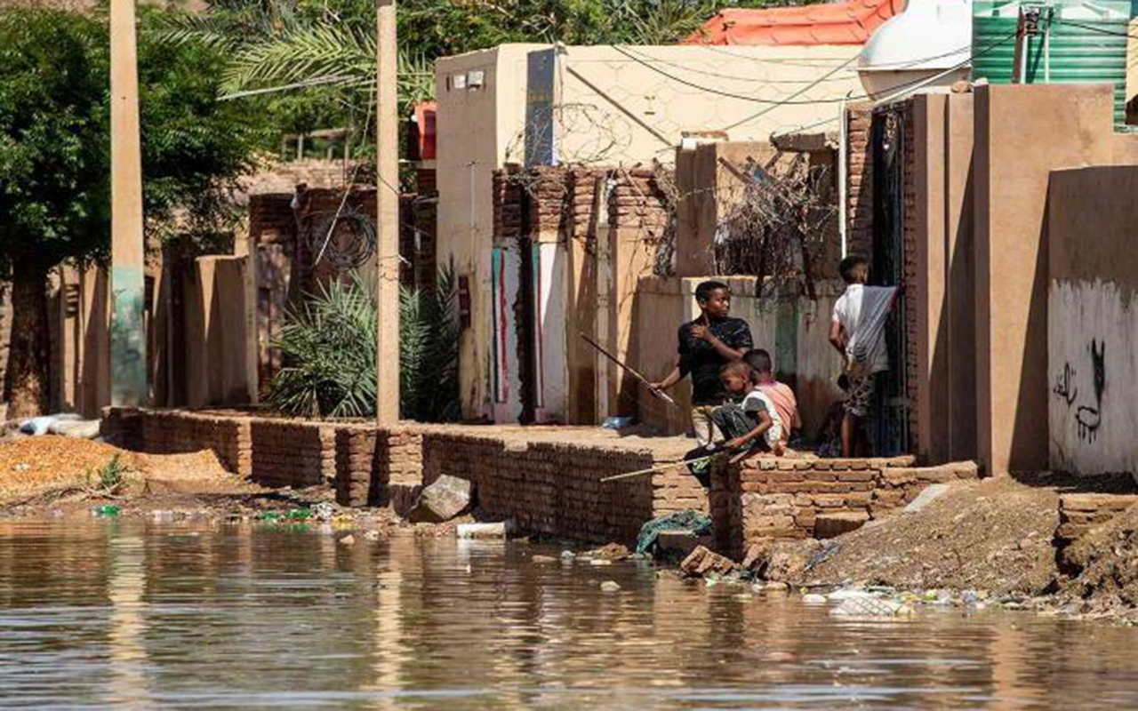 Sudan'da sel: 84 ölü