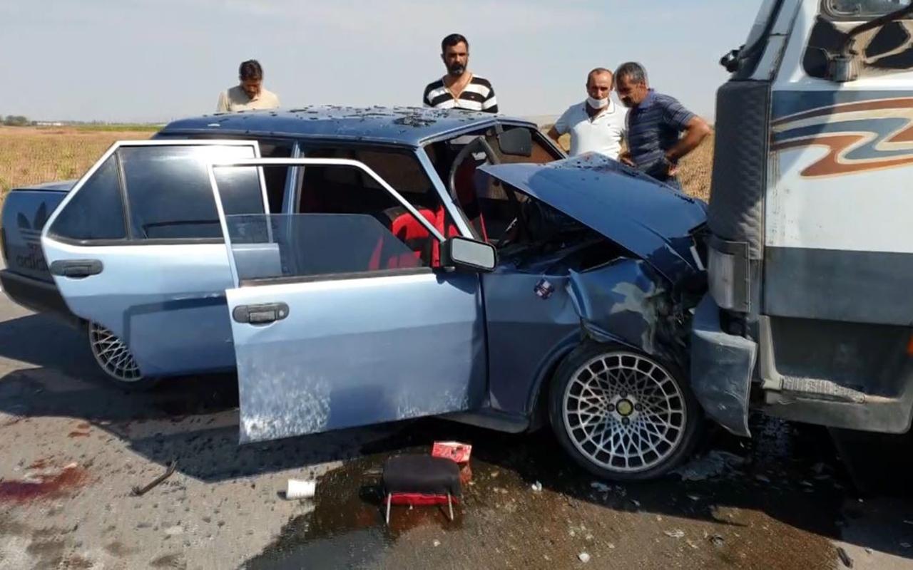 Hatalı sollama kazaya neden oldu: 8 yaralı