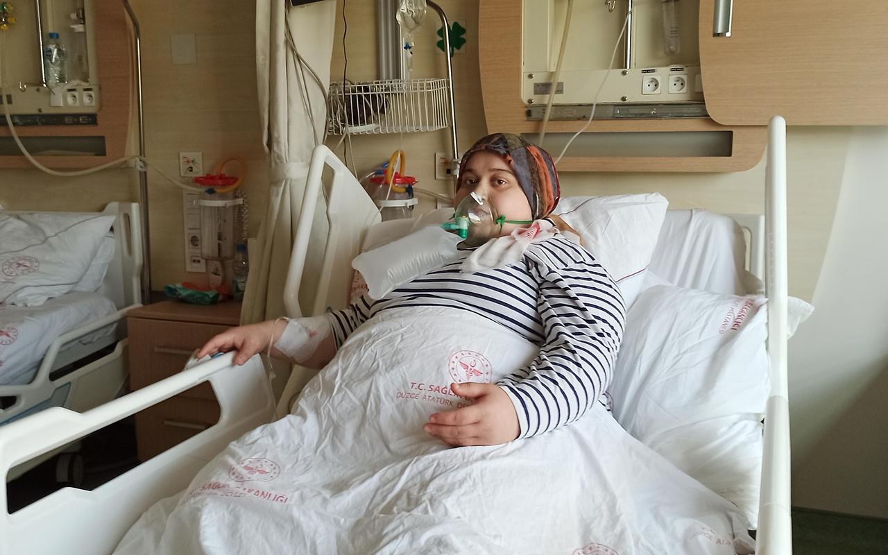 Gençliğine güvenerek aşı olmayı geciktirince pişmanlığı hastane odasında yaşadı