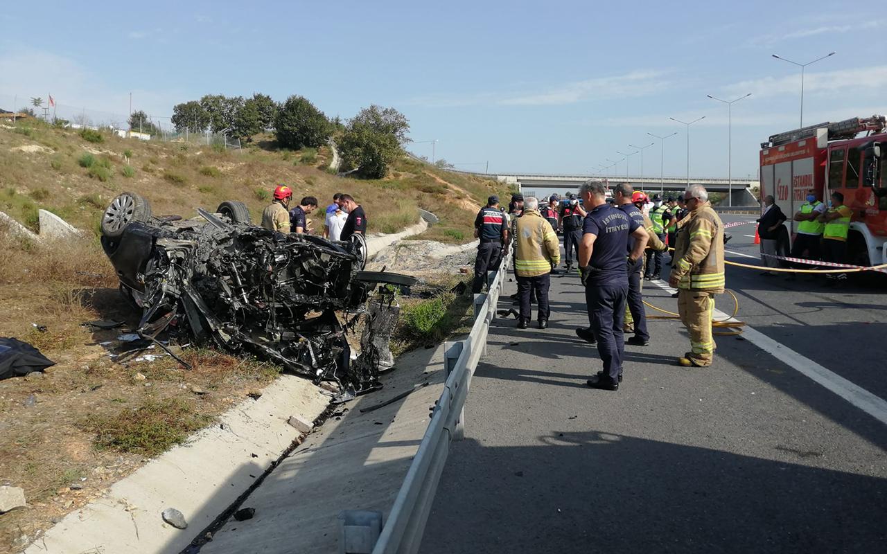 Feci kaza: Anne ve baba hayatını kaybetti, 2 çocuk yaralandı