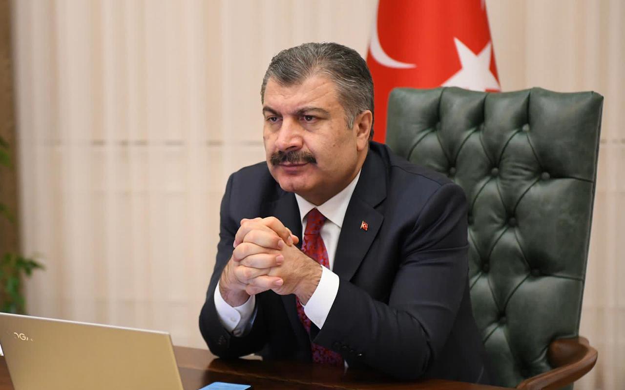 Kentteki yeni gelişmeyi duyuran Sağlık Bakanı Koca'dan 10 ile çağrı