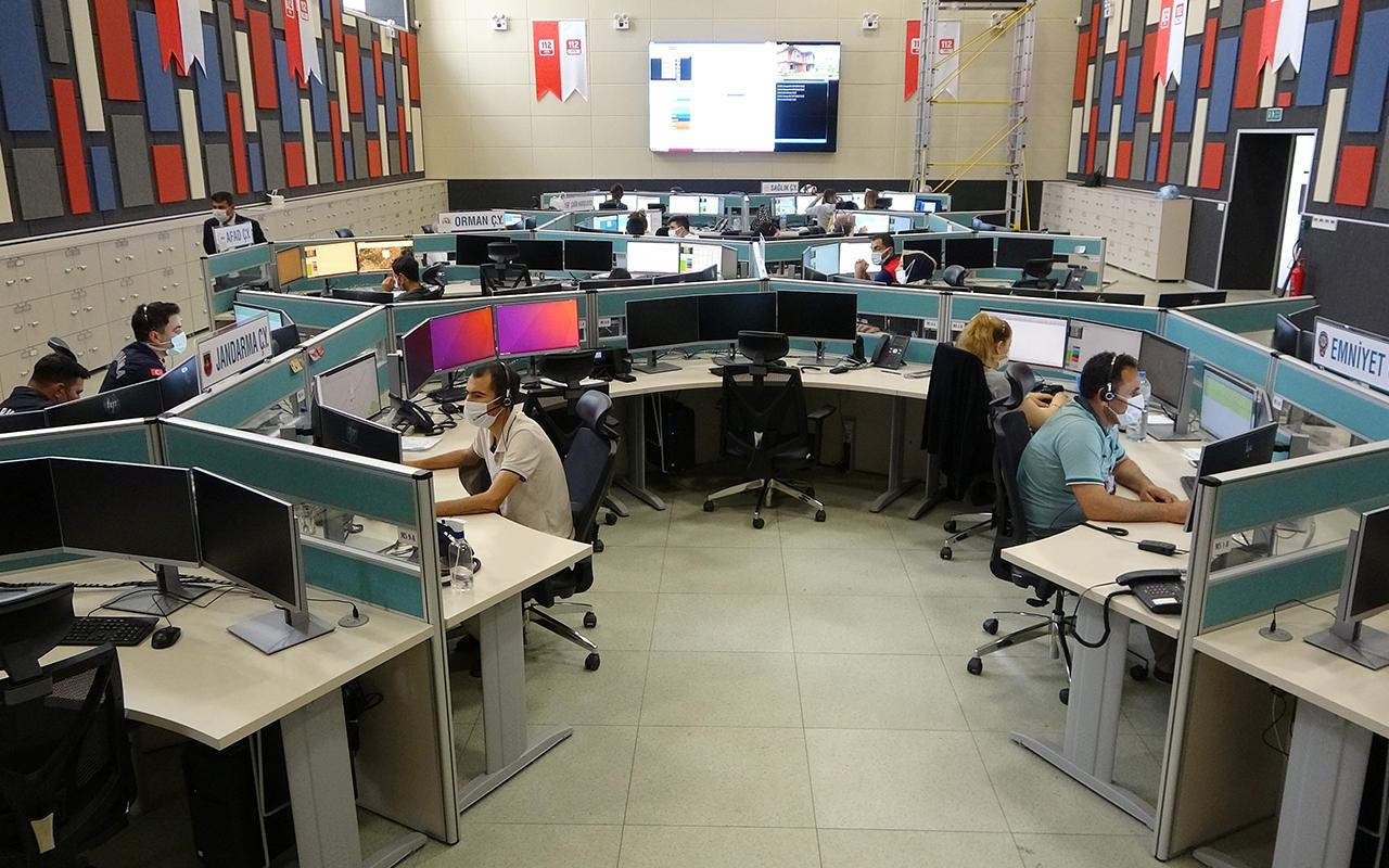 Vali Yerlikaya: 112 Acil Çağrı Merkezine gelen çağrıların yüzde 55'i asılsız