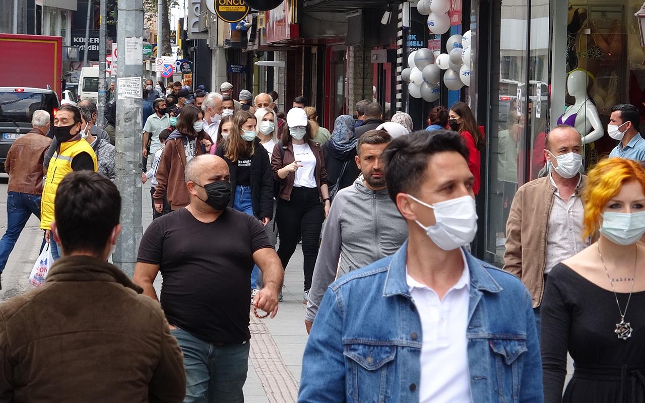 Vakaların en çok arttığı Zonguldak, haritada kızardı