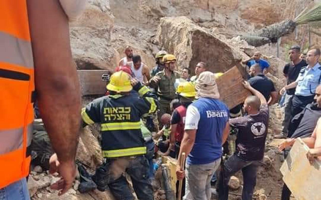 İsrail'de şantiyede toprak kayması: 10 işçi yaralandı