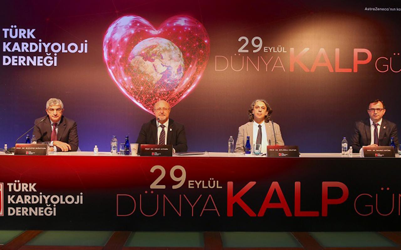 Türk Kardiyoloji Derneği'nden Dünya Kalp Gününde vatandaşlara uyarı: