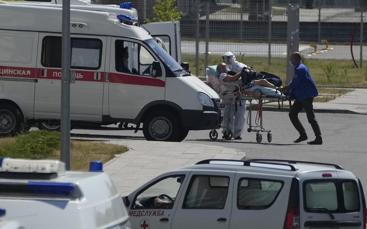 Rusya'da Covid-19 kaynaklı günlük ölüm sayısında yeni rekor