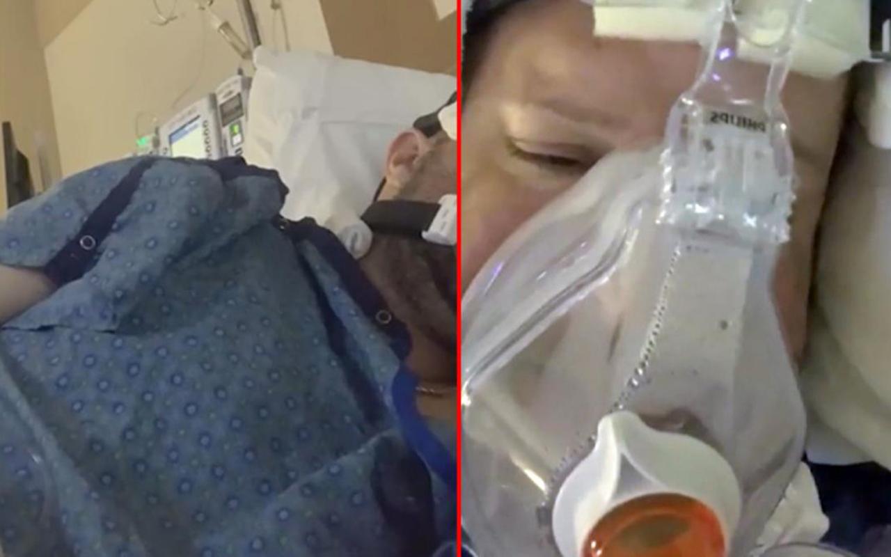 Aşı karşıtı koronavirüs hastası, Facebook'taki canlı yayınının ardından hayatını kaybetti